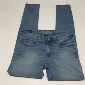 American Eagle super stretch high waisted jeggings